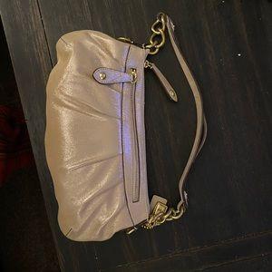 Limited Edition Gold Coach shoulder bag